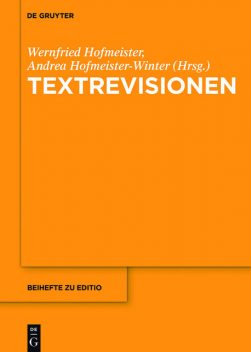Textrevisionen, Andrea Hofmeister, Wernfried Hofmeister
