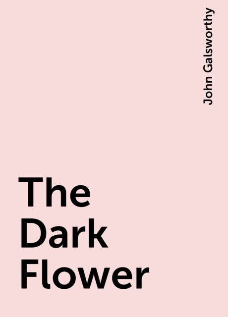 The Dark Flower, John Galsworthy