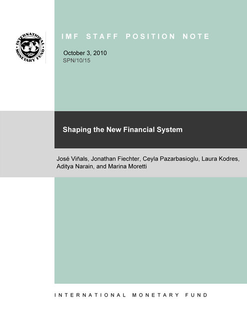 Shaping the New Financial System, Marina Moretti