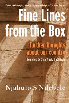 Fine Lines from the Box, Njabulo Ndebele