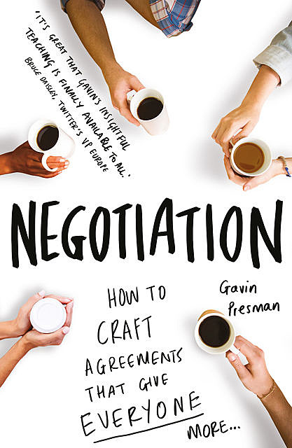 Negotiation, Gavin Presman