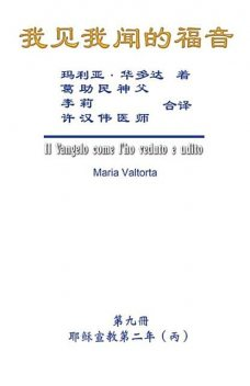 The Gospel As Revealed to Me (Vol 9) – Simplified Chinese Edition, Hon-Wai Hui, Maria Valtorta, 许汉伟