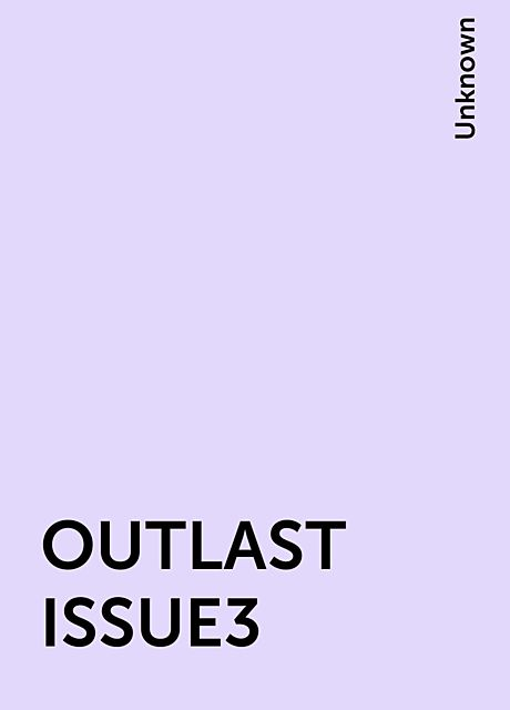 OUTLAST ISSUE3,