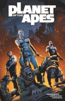 Planet of the Apes: Vol. 5, Daryl Gregory
