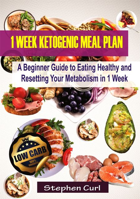 1 Week Ketogenic Meal Plan, Stephen Curl