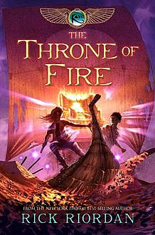 Kane 2 – The Throne of Fire, Rick Riordan
