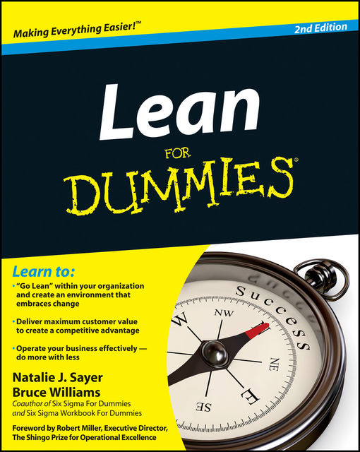 Lean For Dummies, 2nd Edition, Bruce Williams, Natalie Sayer