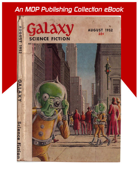 Galaxy Science Fiction August 1952,