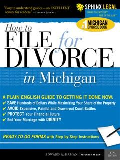 How to File for Divorce in Michigan, Edward A Haman