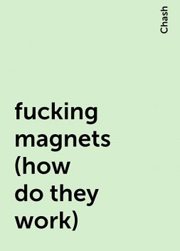 fucking magnets (how do they work), Chash