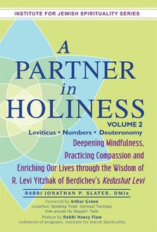 A Partner in Holiness Vol 2, DMin, Rabbi Jonathan P. Slater