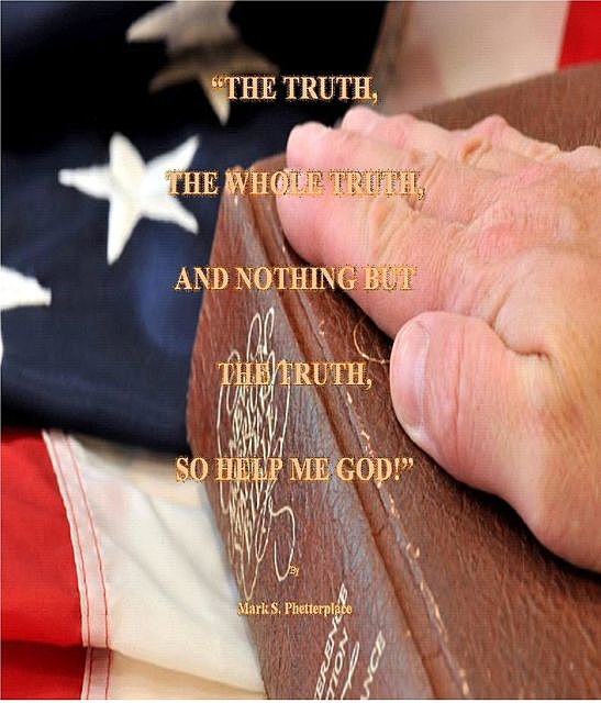 The Truth, The Whole Truth, and Nothing but the Truth, So Help me God, Mark S Phetterplace