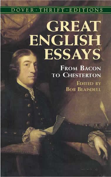 Great English Essays, Bob Blaisdell