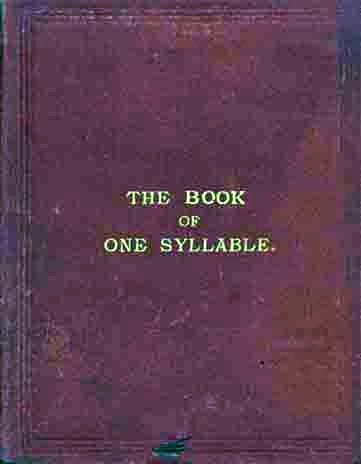 The Book of One Syllable, Esther Bakewell