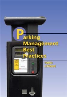 Parking Management Best Practices, Todd A. Litman