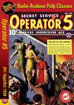 Operator #5 eBook #41 The Day of the Dam, Curtis Steele