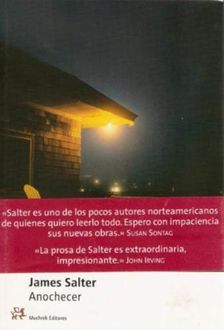 Anochecer, James Salter