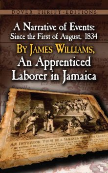 A Narrative of Events, James Williams