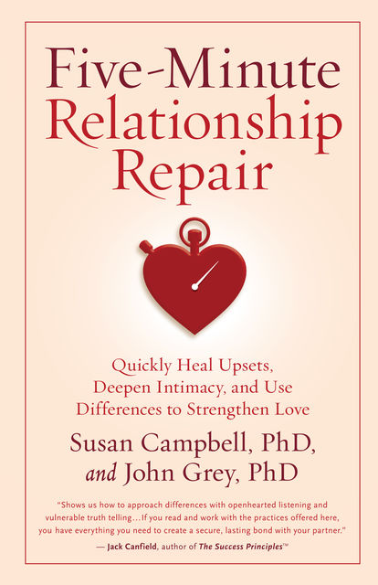 Five-Minute Relationship Repair, John Gray, Susan Campbell