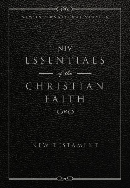 NIV, Essentials of the Christian Faith, New Testament, eBook, Zondervan
