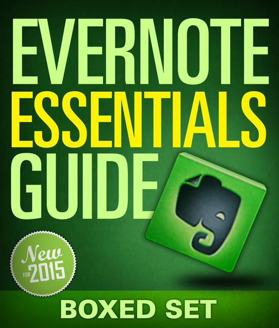 Evernote Essentials Guide (Boxed Set), Speedy Publishing
