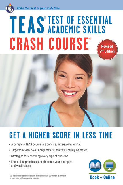 TEAS Crash Course Book + Online, Daniel Greenberg
