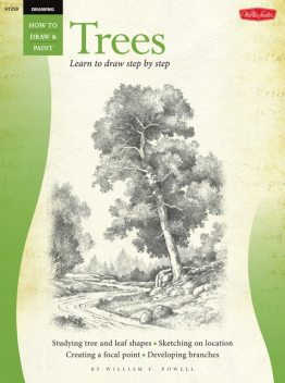 Drawing: Trees with William F. Powell, William Powell