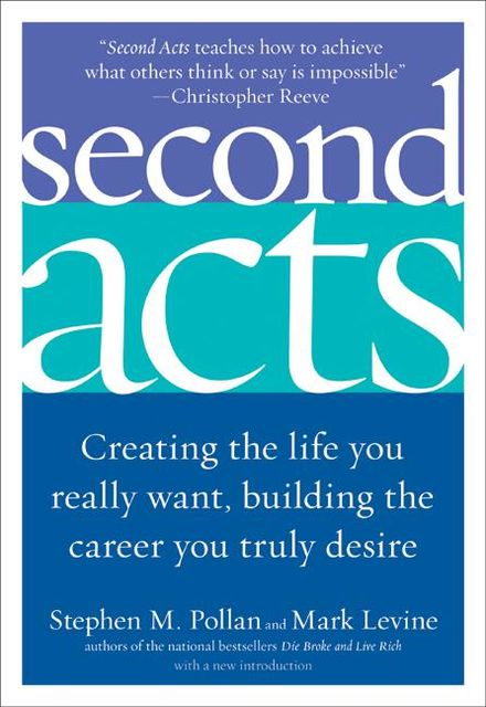 Second Acts, Mark LeVine, Stephen Pollan
