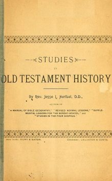 Studies in Old Testament History, Jesse Lyman Hurlbut