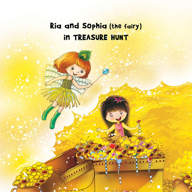 Ria and Sophia (the fairy) in Treasure Hunt, Ambica Ananthan