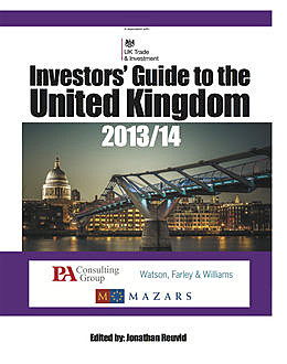 The Investors' Guide to the United Kingdom 2013/14, Jonathan Reuvid