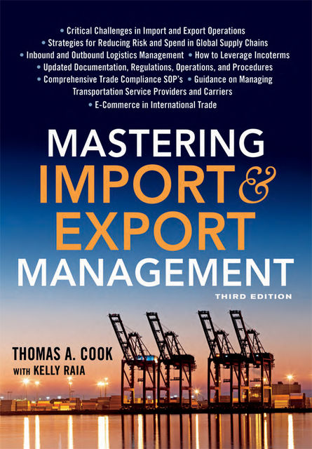 Mastering Import and Export Management, Thomas Cook