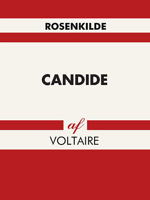 Candide, Voltaire Voltaire