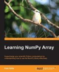 Learning NumPy Array, Ivan Idris