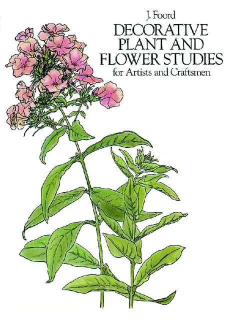 Decorative Plant and Flower Studies for Artists and Craftsmen, J.Foord