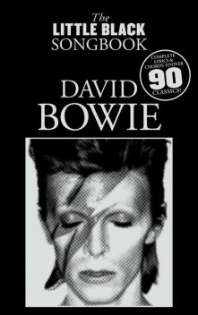 The Little Black Songbook: David Bowie, Adrian Hopkins