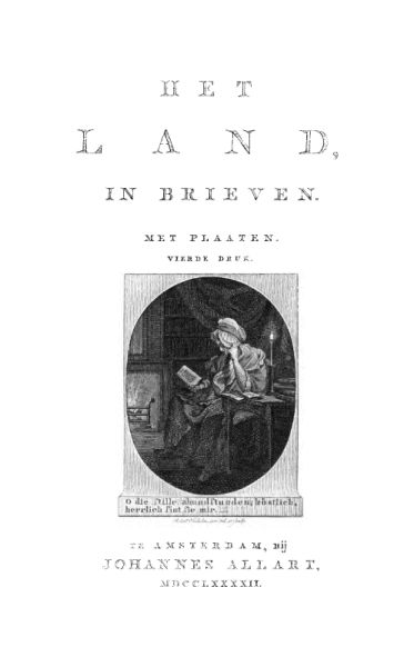 Het land, in brieven, Elisabeth Maria Post