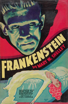 Frankenstein; Or, The Modern Prometheus, Mary Shelley