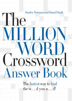 The Million Word Crossword Answer Book, Daniel Stark, Stanley Newman