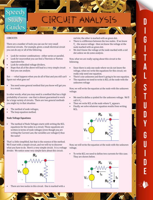 Circuit Analysis (Speedy Study Guide), Speedy Publishing
