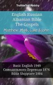 English Russian Albanian Bible – The Gospels – Matthew, Mark, Luke & John, TruthBeTold Ministry