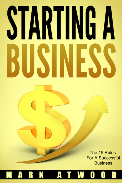 Starting A Business, Mark Atwood