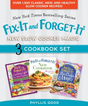 Fix-It and Forget-It New Slow Cooker Magic Box Set, Phyllis Good