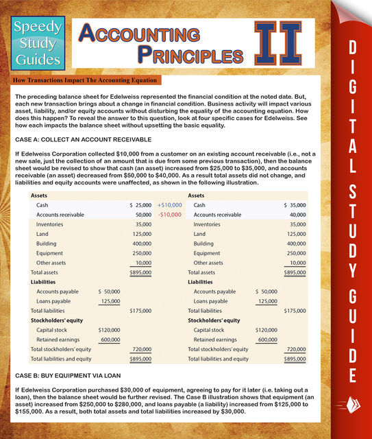 Accounting Principles 2 (Speedy Study Guides), Speedy Publishing
