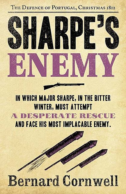 Sharpe's Enemy, Bernard Cornwell