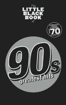 The Little Black Book: 90s Greatest Hits, Adrian Hopkins
