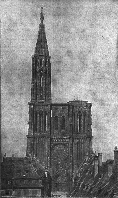 Historical Sketch of the Cathedral of Strasburg,