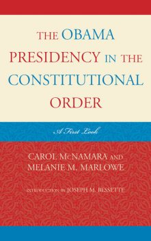 The Obama Presidency in the Constitutional Order, McNamara