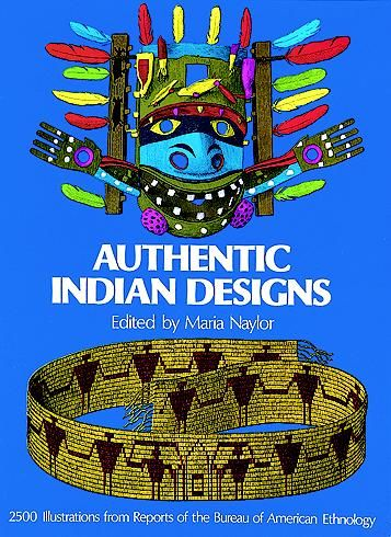Authentic Indian Designs, Maria Naylor