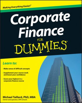Corporate Finance For Dummies, Michael Taillard